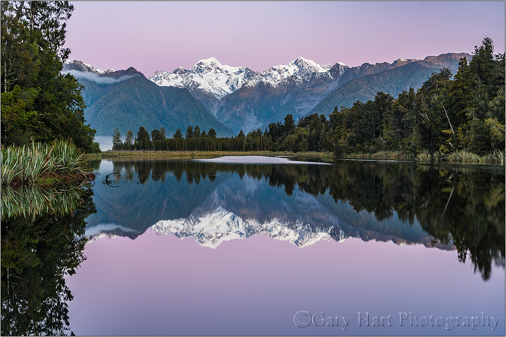 Twilight Reflection, Lake Matheson, New Zealand