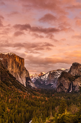 Yosemite Sky, Tunnel View, Yosemite