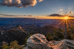New Day, Grandview Point Sunstar, Grand Canyon