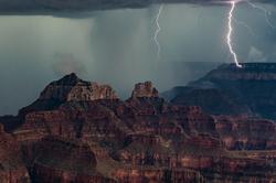 Direct Hit, Lightning Strike, Grand Canyon