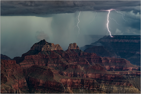 Direct Hit, Lightning Strike, Grand Canyon