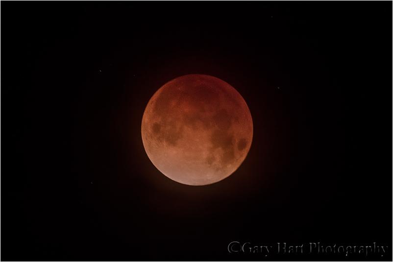 Blood Moon, Death Valley, California