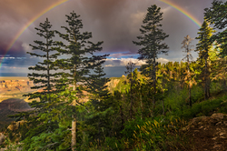 Heaven Sent, Vista Encantada Rainbow, Grand Canyon