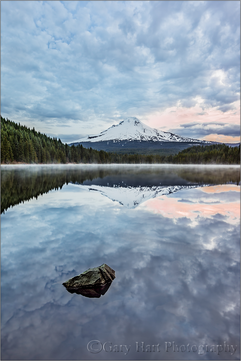 Morning Peace, Trillium Lake and Mt. Hood, Oregon