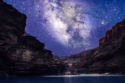 Grand Night, Milky Way Above the Grand Canyon
