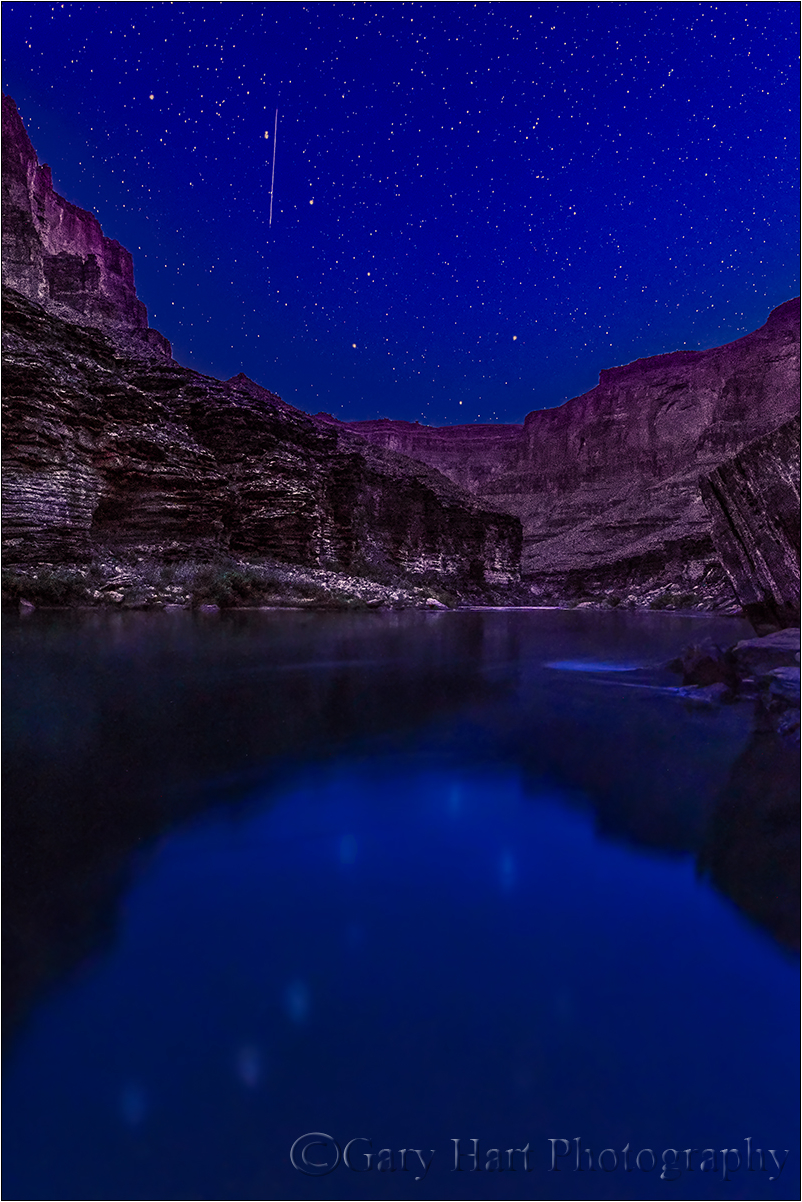 Big Dipper Reflection, Colorado River,Grand Canyon