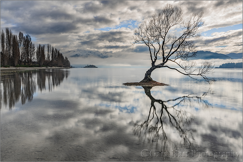 Lake Wanaka Reflection, New Zealand