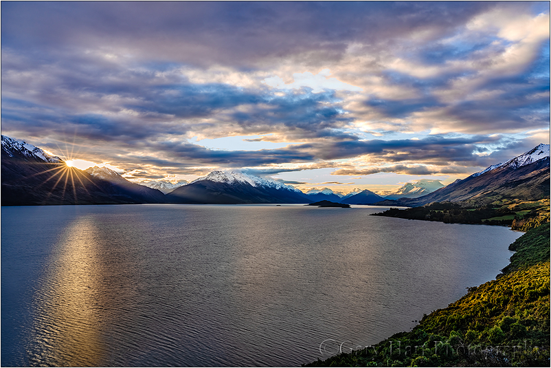 Last Light, Lake Wakatipu, New Zealand