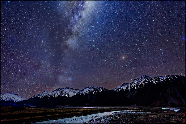 Milky Way, Cook/Aoraki National Park, New Zealand