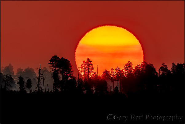 Big Sun, Bright Angel Point, Grand Canyon