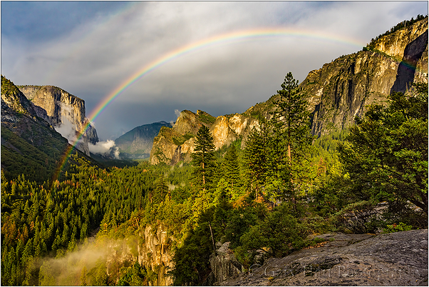 Summer Rainbow, Yosemite Valley