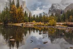 Autumn Snow, El Capitan, Yosemite