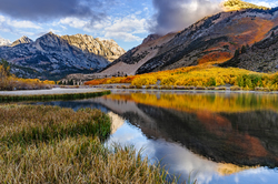 Autumn Morning, North Lake, Eastern Sierra