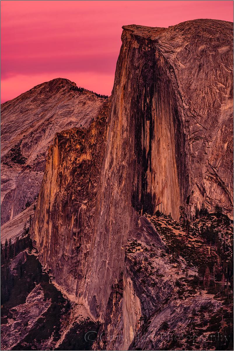 Face to Face, Half Dome, Glacier Point, Yosemite