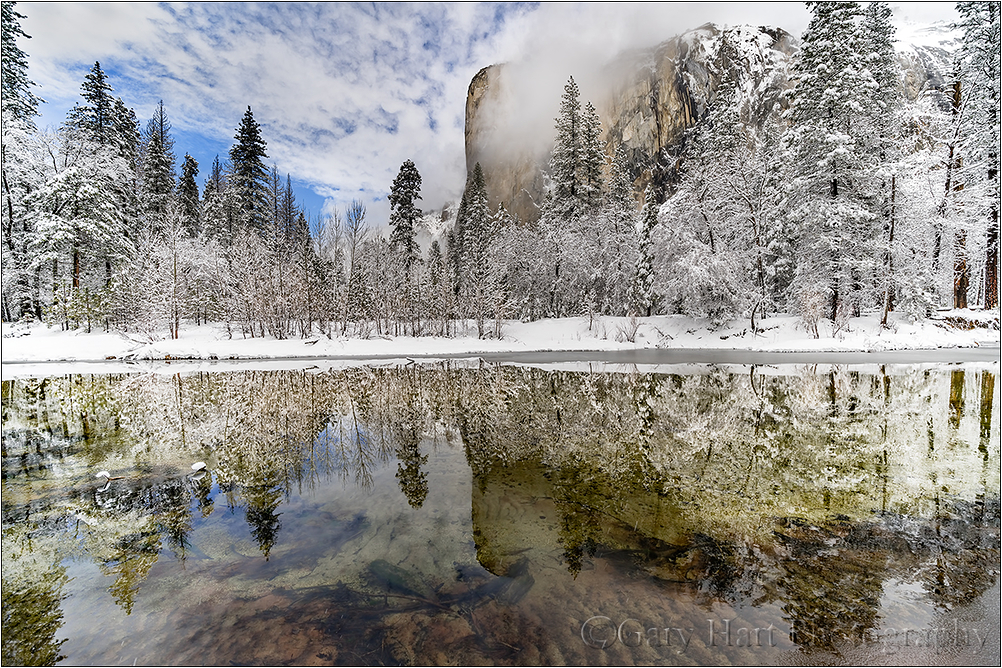 Clearing Storm Reflection, El Capitan, Yosemite