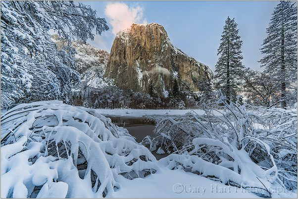 Fresh Snow, El Capitan, Yosemite