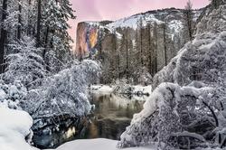 Winter Glow, El Capitan, Yosemite