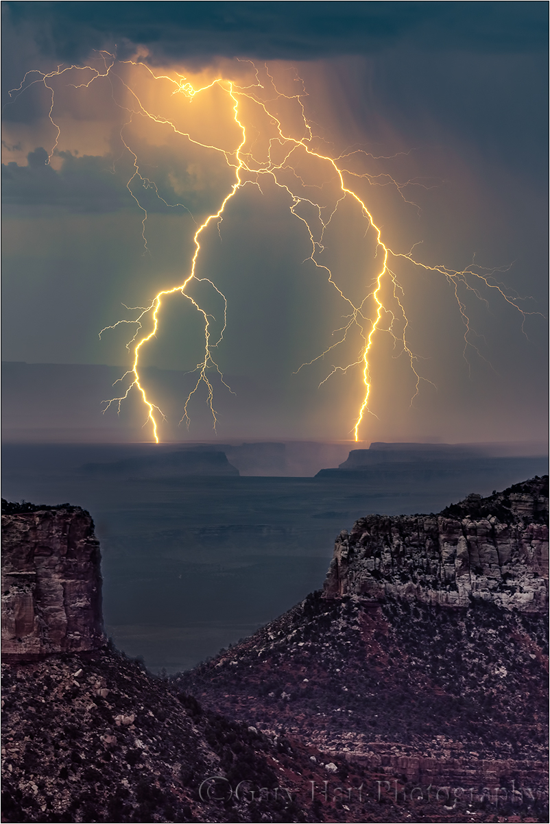 Forked Lightning, Point Imperial, Grand Canyon