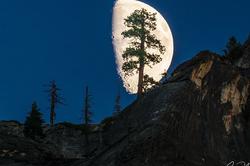 Big Moon, Valley View, Yosemite