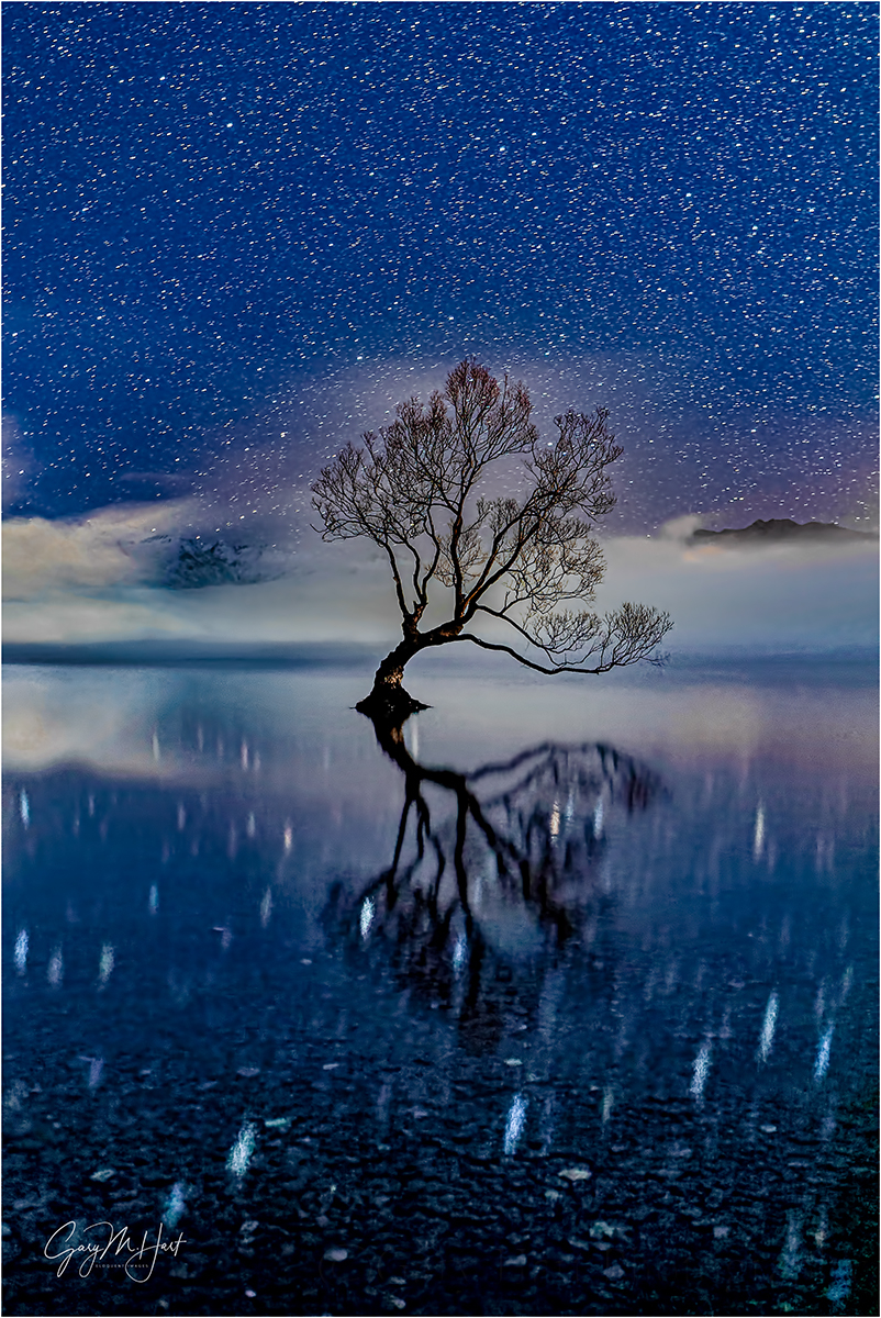 Starry Night, Lake Wanaka, New Zealand