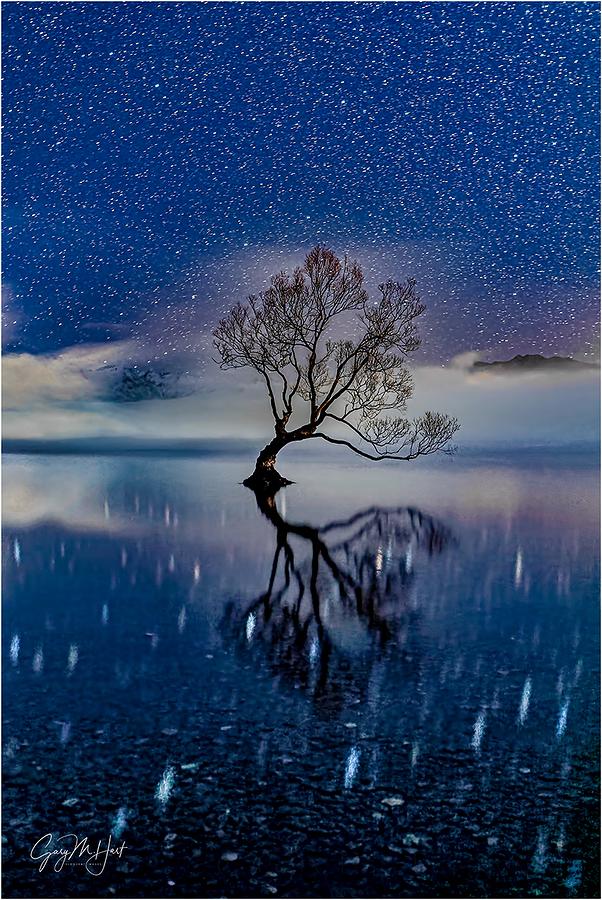 Starry Night, Lake Wanaka, New Zealand