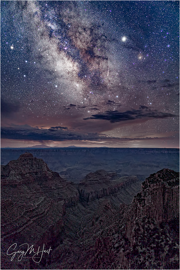 Monsoon Milky Way, Cape Royal, Grand Canyon