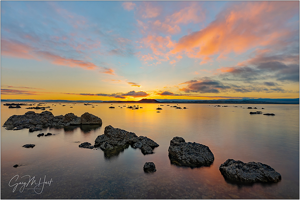 Daybreak, Mono Lake, Eastern Sierra, California