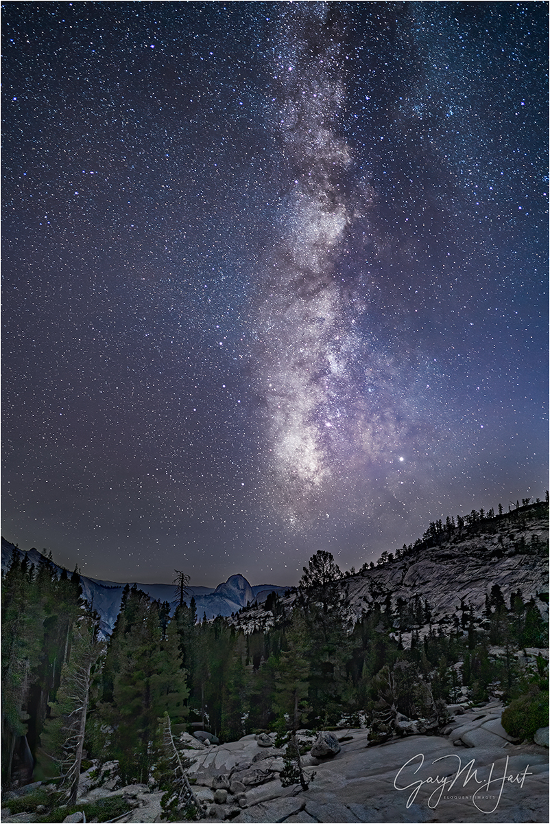 Yosemite Night, Half Dome from Olmsted Point