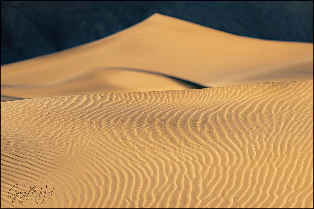 Dune Patterns, Mesquite Dunes, Death Valley