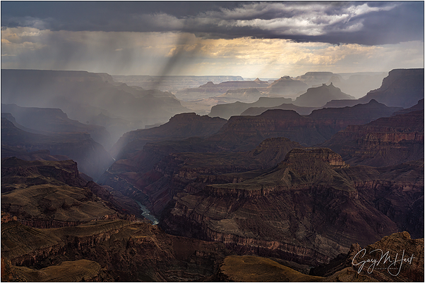 Summer Storm, Lipan Point, Grand Canyon