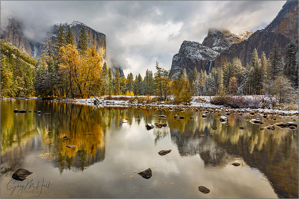 Two Seasons, Valley View, Yosemite