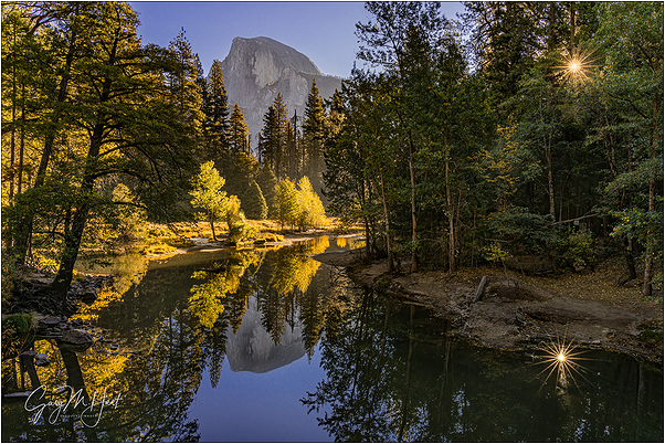 Autumn Morning, Half Dome, Yosemite