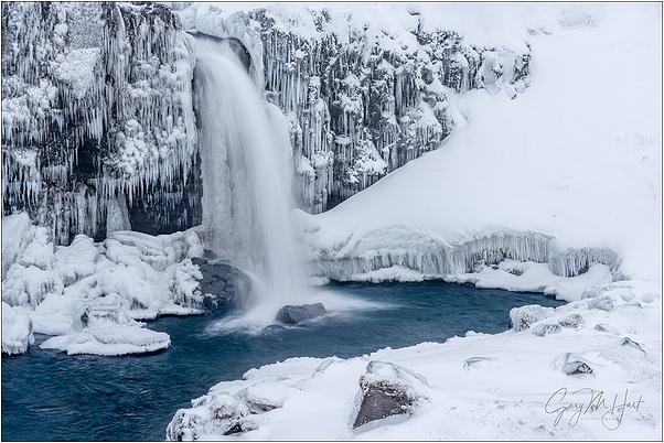 Frozen, Kirkjufellsfoss, Iceland