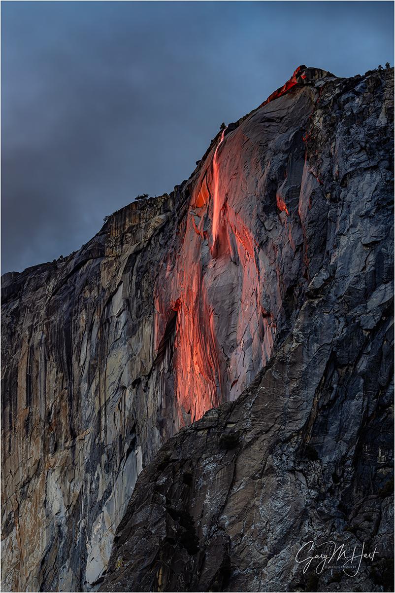 Last Light, Horsetail Fall, Yosemite