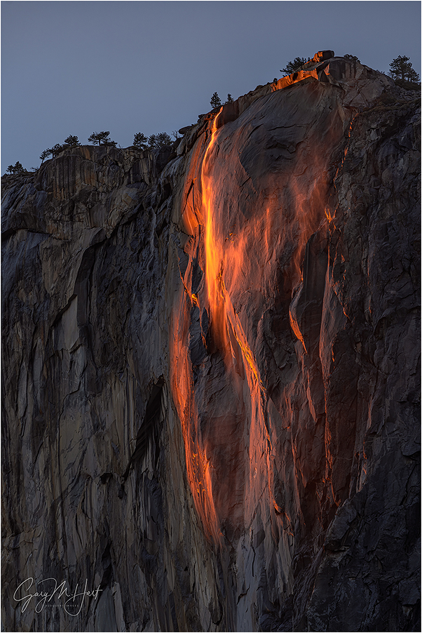 Windswept, Horsetail Fall, Yosemite