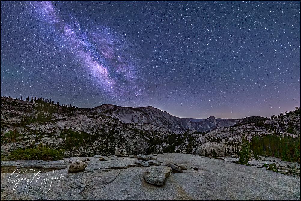 Summer Night, Milky Way Over Yosemite
