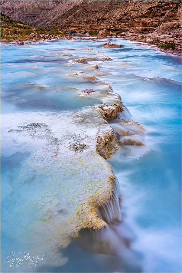 Limestone Cascades, Little Colorado, Grand Canyon