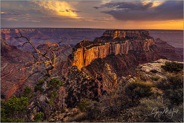 Last Light, Wotan's Throne, Grand Canyon