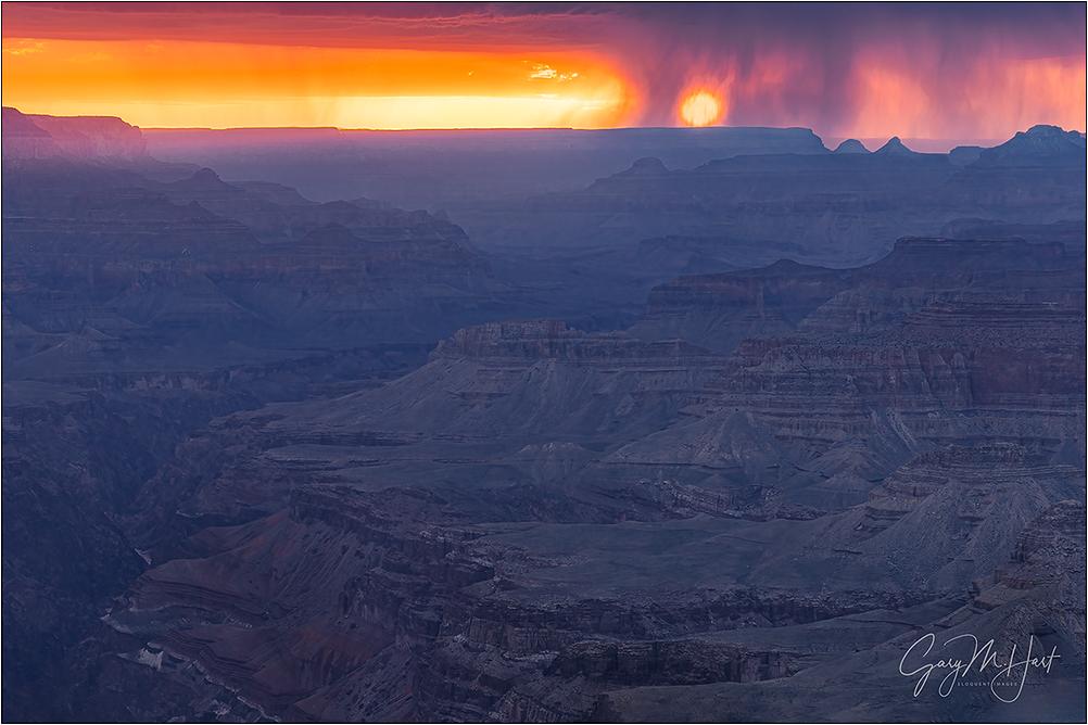 Veiled Sunset, Lipan Point, Grand Canyon