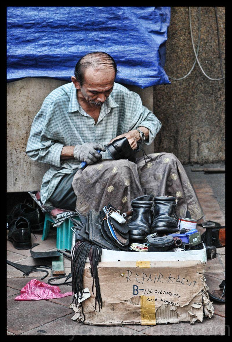 repair kasut