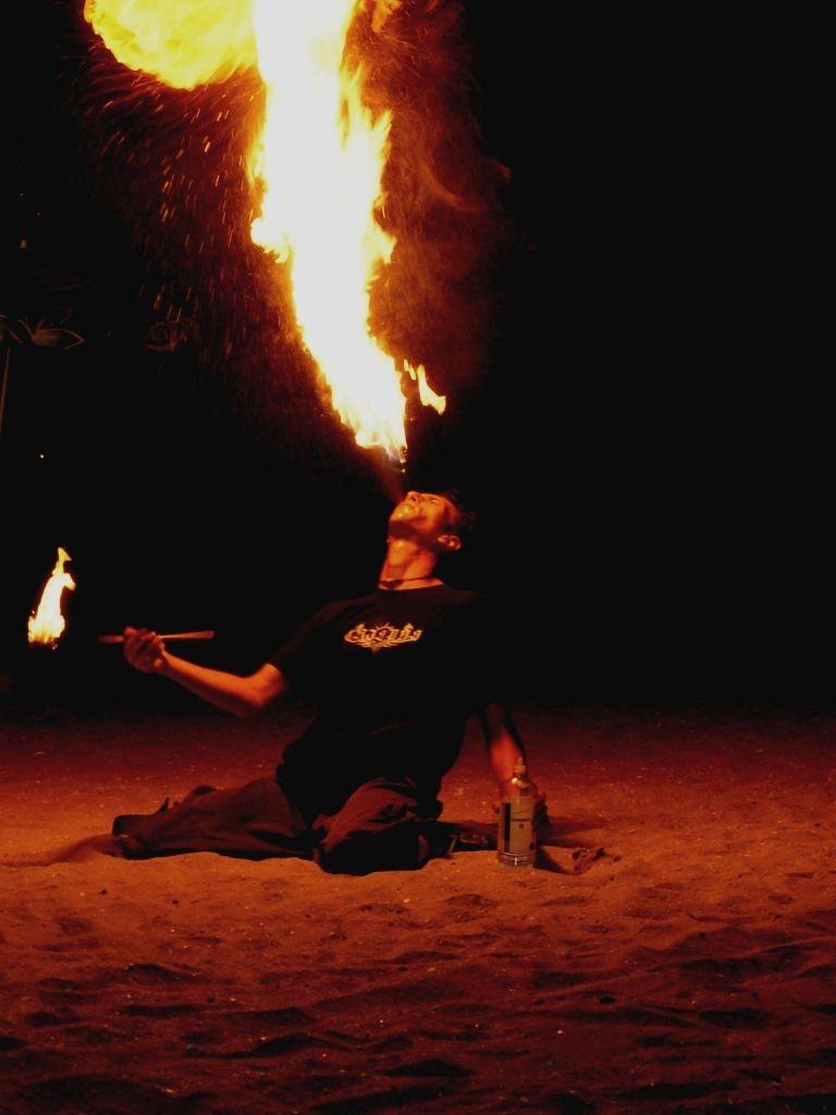 Baby, i'm burning !
