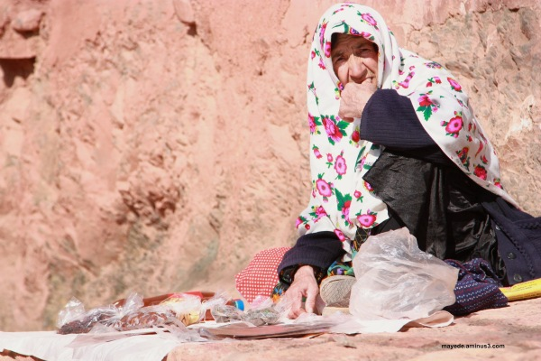 Woman  in ABYANEH