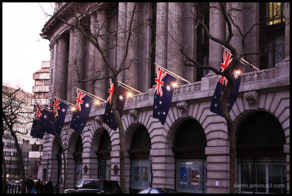 Australian Embassy!