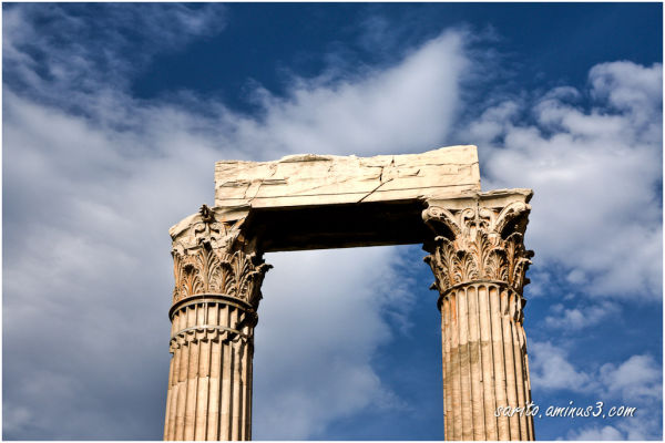Temple of Olympian Zeus 2 ~ Ναὸς τοῦ Ὀλυμπίου Διός