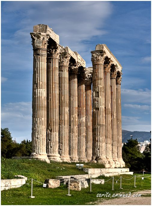 Temple of Olympian Zeus 3 ~ Ναὸς τοῦ Ὀλυμπίου Διός