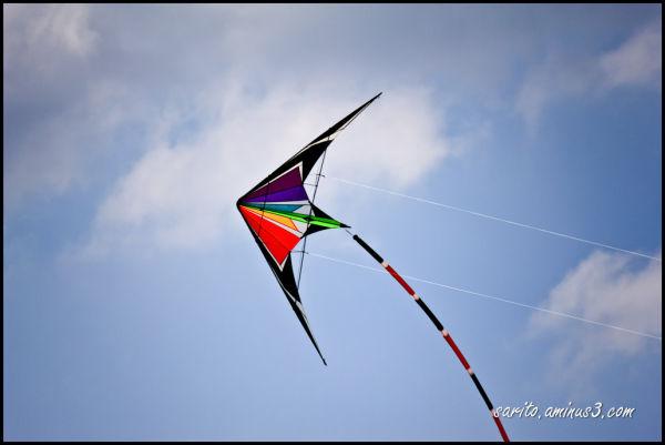 An arrow in the sky...