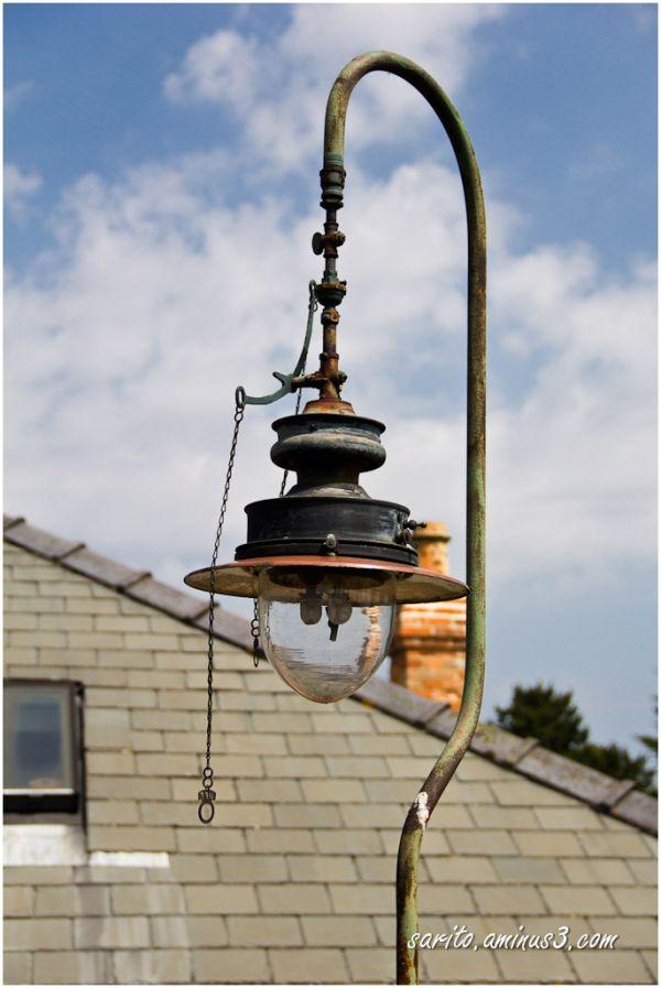 Lamp post...