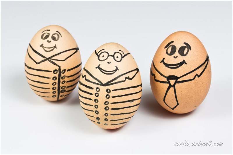 The Three Eggeteers
