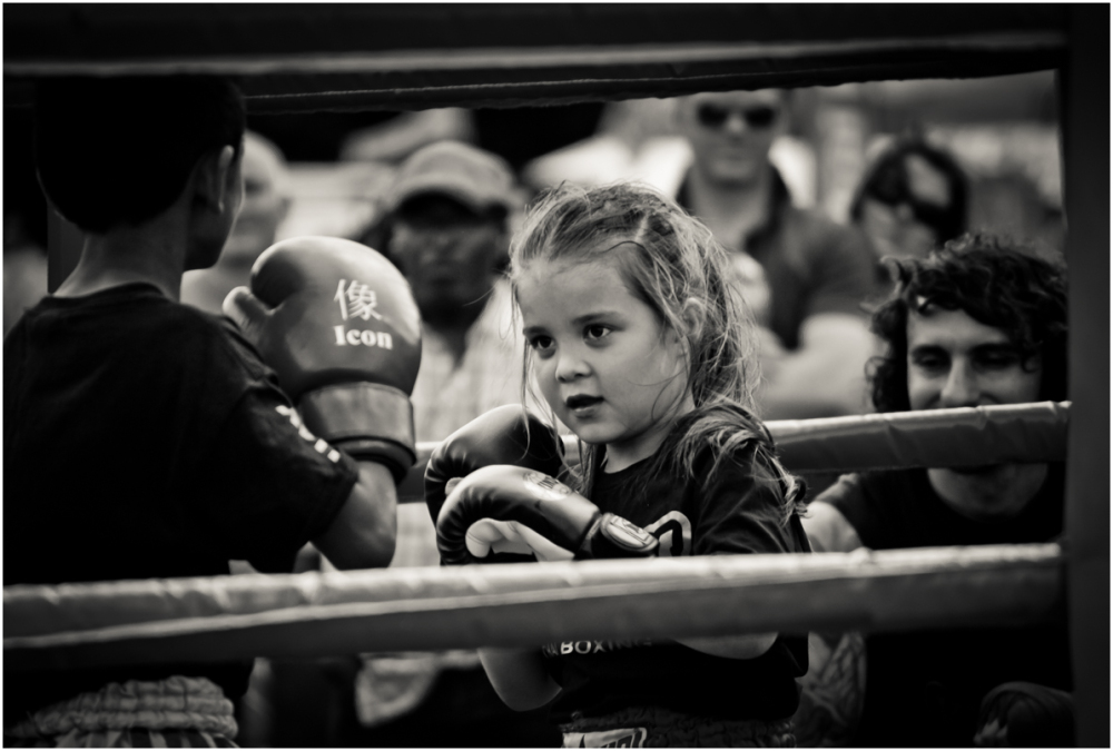Young Boxer...