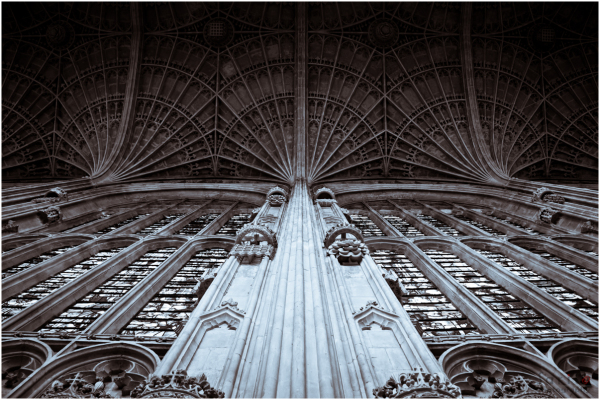 king's college chapel - World's largest fan vault